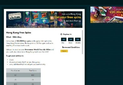 Win a Share of 50,000 Free Spins at Grosvenor Casino