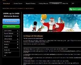 Enjoy 12 Days of Bonuses at Casino.com