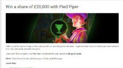 Win a Share of £20,000 Cash in Unibet Casino's Pied Piper Tournament