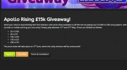 ToteSport Casino Runs £15K Giveaway This Week