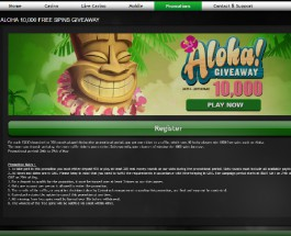 Win 1,000 Free Spins on Aloha Cluster Pays at Casino Luck