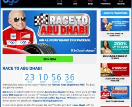 Win A Luxury Trip to the Abu Dhabi Grand Prix at BGO Casino