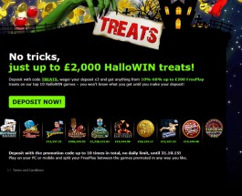 Enjoy Halloween Free Play at 888 Casino