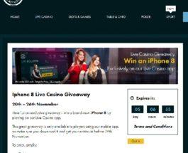 Win a Brand New iPhone 8 at Grosvenor Casino