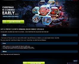 Enjoy 20 Free Christmas Spins at Gala Casino