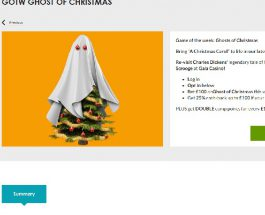 Get Up To £100 Cashback on Ghosts of Christmas Slot at Gala