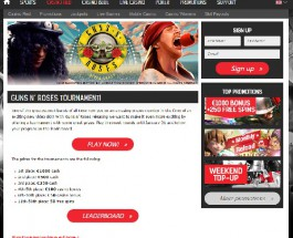 Win €1000 in RedBet Guns N' Roses Tournament