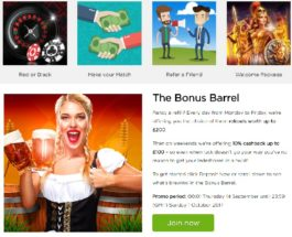 Enjoy Daily Bonuses with Casino.com's The Bonus Barrel