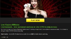 Receive Up To €750 Bonus Playing Blackjack at 888 Casino