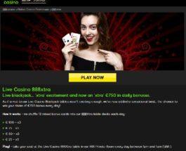 Receive Up To €750 Bonus Playing Blackjack at 888 Casino