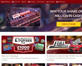 Receive a £50 Bonus to Play Vegas Lights at Sky Vegas