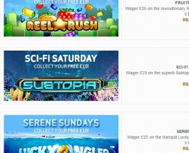 BetVictor Casino Offers Slots Bonuses All Weekend