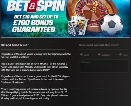 FA Cup and Casino Bonuses at Coral Casino This Week