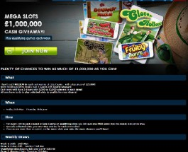 Win a Share of £1 Million in Gala Casino Cash Giveaway