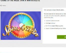 Enjoy 25% Cashback on Spin A Win at Gala Casino