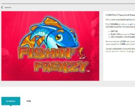 Win a Share of £100K in Gala Casino's Fishin Frenzy Prize Draw