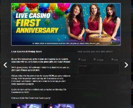 Win Gadgets and Cash with Coral Live Casino Birthday Celebrations