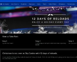 Receive Daily Reload Bonuses at Sky Casino