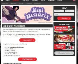 Win a Jimi Hendrix Stratocaster at Redbet Casino