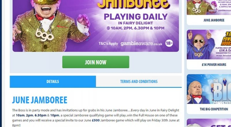 End June on a High in BGO's June Jamboree Game