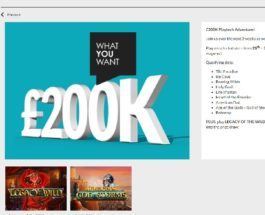 Win A Share of £200K in Gala Casino Prize Draw