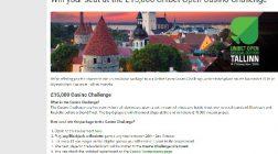 Win a Seat at the £15K Unibet Open Casino Challenge in Estonia