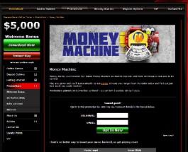 Mansion Casino's Money Machine Offers Cash Bonuses