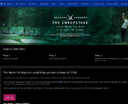 Win a Share of £10K in Sky Casino Golfing Sweepstakes