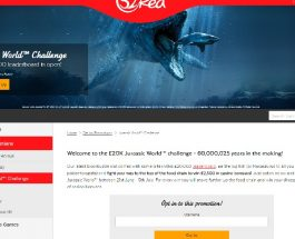 Win a Share of £20K in 32Red Casino's Jurassic World Challenge