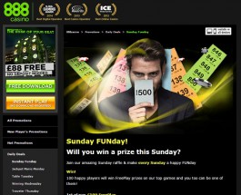 Win Up to £500 in Free Play at 888 Casino