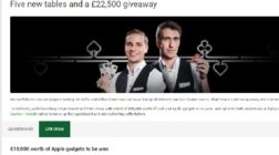 Win Cash and Apple Gadgets at Unibet Casino