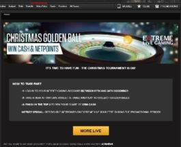 Win a Cash Prize in NetBet Casino's Christmas Golden Ball Promo