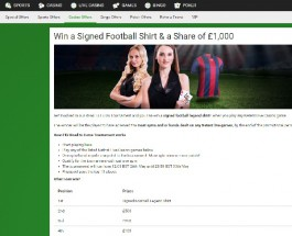 Win a Messi Signed Football Shirt at Unibet Casino