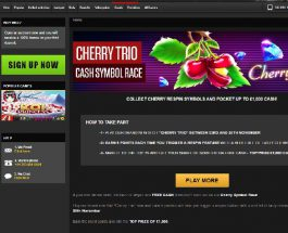 Win £1,000 Cash in NetBet Cherry Trio Promo