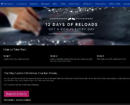 Enjoy £300 of Bonuses at Sky Casino