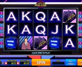 Catch the Jackpot at the New CatchPhrase Slot Game
