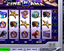 $84K Cinerama Video Slots Available at Gala Casino