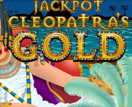 $350K Jackpot Cleopatra's Gold Progressive Available at Intertops Casino