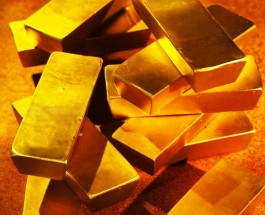 Gold Prices Fall to Eight Month Low