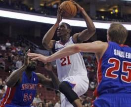 Detroit Pistons vs Philadelphia 76ers Betting Odds