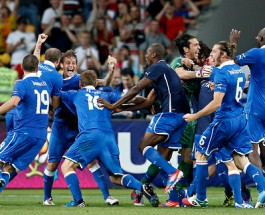 England Loses to Italy in Penalty Kicks