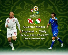 Euro 2012 Sees Italy And England Going Head To Head