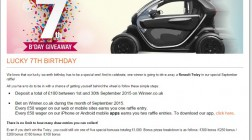 Win a Renault Twizy Electric Car at Winner Casino