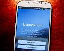 Facebook Home Reaches One Million Downloads
