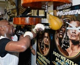 Floyd Mayweather and Marcos Maidana Ready for May 3rd Showdown