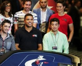 Football Legend Ronaldo Participates in Charity Poker Tournament