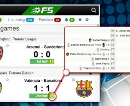 Football Scores 24 Launches Free Chrome Extension for Live Updates