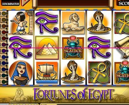 €135K Fortunes of Egypt Grand Progressive Jackpot Available at Casino Club