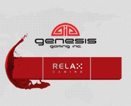 Genesis Gaming and Relax Gaming form Partnership