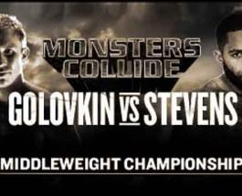 Golovkin vs. Stevens Match Preview